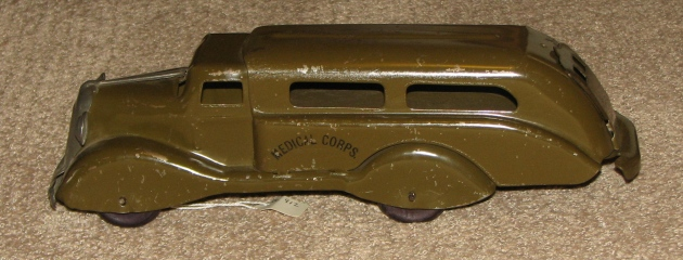 Marx Medical Corpe Army truck for sale
