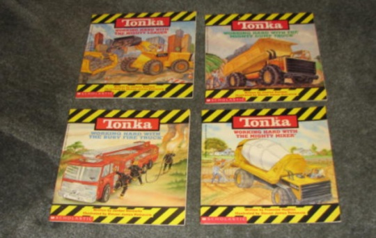 Tonka books for