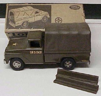 Tonka army pick-up as new in