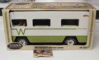 Tonka Winnebago 1970's new in